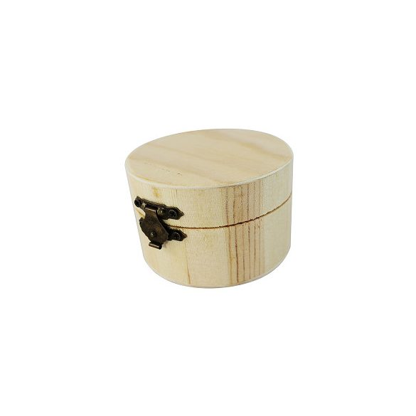 Hengeres kisdoboz 8 x 5 cm