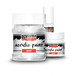 Gyöngyház akrilfesték Acrylic Paint Pearl Pentart 20ml, 50ml Ft-tól