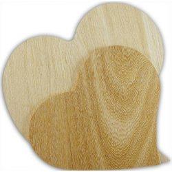 Falap szívforma, nagy 29 x 27 x 0,5 cm