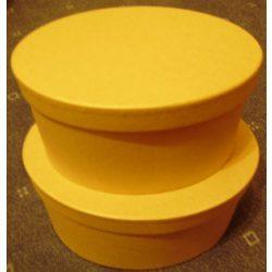 Cakkos tetejű nagy dobozok 2db-os szett, 26,5x9/33x10cm KC73
