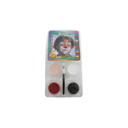 Arcfesték-készlet, Macska Eulenspiegel 4x3,5ml