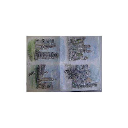 DM dekupázs rizspapír 35cmx50cm 283 Modena5160