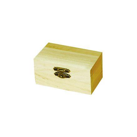 Minidoboz, kincsesláda 9x4,7x5,5cm