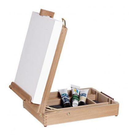 Daler-Rowney Edinburgh dobozos asztali festőállvány 430mm vászonméretig 1,6kg