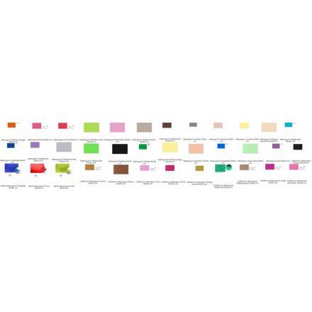 Dekorgumik többféle színben 40x60cm, 2mm