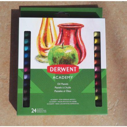 Derwent Academy olajpasztell kréta készlet, 12db-os és 24db-os, Ft-tól