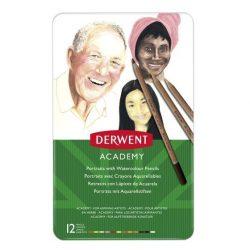 Derwent Academy színes ceruza-készlet fém dobozban