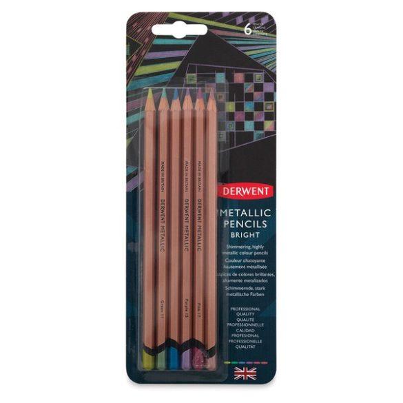 Derwent metál ceruzakészlet 20db-os 20éves jubileumi díszdobozos készlet, 6db-os bliszteres készletek, 12db-os fémdobozos készlet, Ft-tól