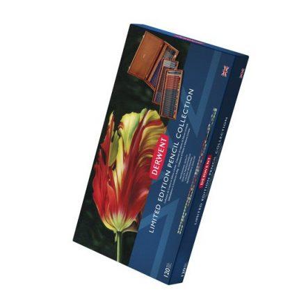 Derwent Special Edition 120db-os művész ceruzakészlet elegáns fadobozban