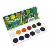 KOH-I-NOOR Anilinky anilinos akvarell festék-készlet 12db-os, 24db-os, Ft-tól (kohinor)