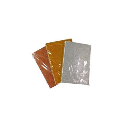 Öntapadós csillogó/glitteres dekorgumik A4, 10db/csomag Ft-tól