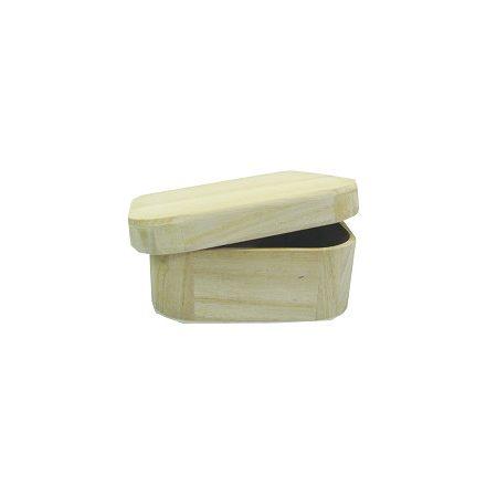 Peremes fadoboz 14x14x5,5cm levehető tetővel