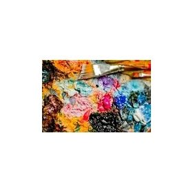 Művész akrilfesték