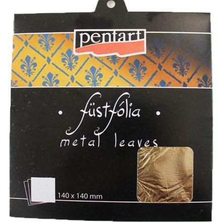 Füstfólia lap Metal Leaf 14x14cm (5lap/csomag), Pentart, Ft-tól
